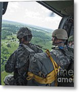 National Guard Special Forces Await Metal Print