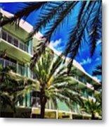 National Hotel, Miami Beach Metal Print
