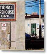 National Warehouse Corp Metal Print