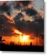 Nature And Technics Metal Print