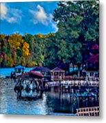 Nature Landscapes Around Lake Wylie South Carolina Metal Print
