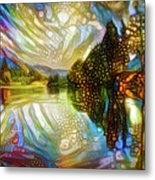 Nature Reflections Metal Print