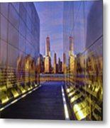 New Jersey Empty Sky 9-11 Memorial Metal Print
