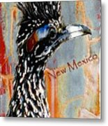 New Mexico Roadrunner Metal Print