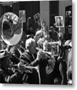 New Orleans Jazz Funeral Metal Print