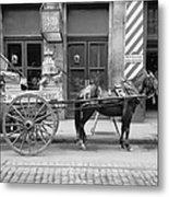 New Orleans: Milk Cart Metal Print