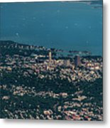 New Rochelle Real Estate Aerial Photo Metal Print
