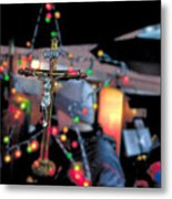 New York Christmas Metal Print