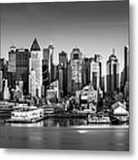 New York City Panorama Metal Print