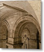 New York Library Metal Print