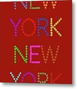 New York No 1 Metal Print
