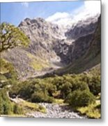 New Zealand Landscape Metal Print