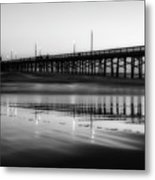 Newport Beach Pier At Sunrise Metal Print