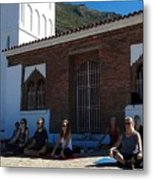 Nice View From Chefchaouen Morocco Metal Print