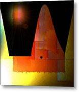 Night In The Desert Metal Print