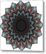 10448 Night Shift Kaleidoscope Metal Print