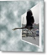 No Fly Zone Metal Print