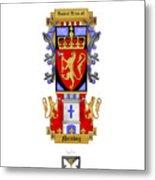 Norskog Coat Of Arms Metal Print