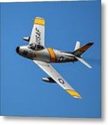 North American F-86 Sabre Metal Print