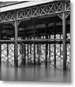 North Pier Blackpool Metal Print