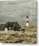 North Sea Lighthouse - Germany Metal Print