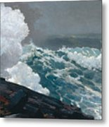 Northeaster, 1895 Metal Print