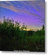 Northern Lights At Mount Pilchuck Metal Print