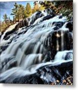 Northern Michigan Up Waterfalls Bond Falls Metal Print