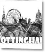 Nottingham England Skyline Metal Print