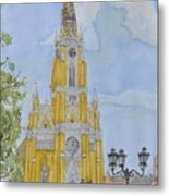 Novi Sad Cathedral Metal Print