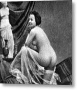 Nude Posing, 1855 Metal Print