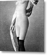 Nude Posing, C1888 Metal Print