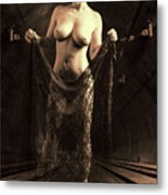 Nude Woman Model 1722  027.1722 Metal Print
