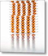 Nutritional Supplement Capsules Metal Print