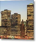 Ny Downtown Metal Print
