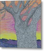 Oak Tree Metal Print