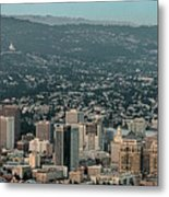 Oakland California Skyline Metal Print
