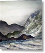 Ocean Emotion Release Metal Print