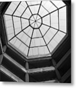 Octagon Skylight Metal Print