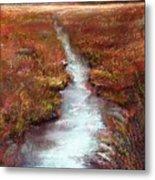 October Goshen Creek Metal Print