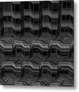 Office Building Abstract Metal Print