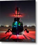 Oh-58d Kiowa Pilots Run Metal Print