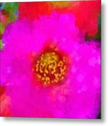 Oh What Colors Metal Print