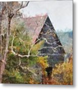 Old Barn At Cades Cove Metal Print