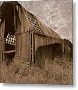 #210 Old Barn Metal Print