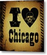 Old Chicago Metal Print