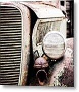 Old Farm Ford Metal Print