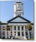 Old Florida Capitol Metal Print