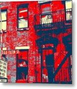 Old Fulton St Metal Print