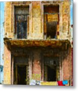 Old Havana Building Metal Print